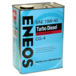 ENEOS 5W-30 CG-4 TURBO минеральное 4л