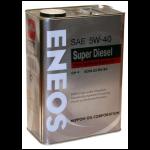ENEOS 5W-40 CH-4 100% синтет. 4л