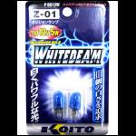 Koito 8813 T10 12V 5W Лампа доп.освещения (ярко белая, блистер), 2 шт.