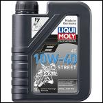 Liqui Moly НС-синтетическое моторное масло для 4-тактных мотоциклов Motorbike 4T Street 10W-40 1л