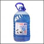 Жидкость стеклоомывателя незамерзающая, без запаха (незамерзайка) 5л