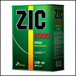 ZIC 5000 10W40 CI-4 diesel 4л п/с