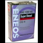 ENEOS 10W-40 CG-4 полусинт. 4л