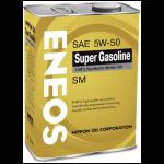 ENEOS 5W-50 SM 100% синтет. 4л