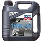 Liqui Moly НС-синтетическое моторное масло для 4-тактных мотоциклов Motorbike 4T Street 10W-40 4л