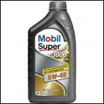 Mobil Super 3000 Х1 5w40 1л